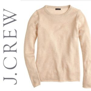 J. Crew Collection Cashmere Metallic Sweater S